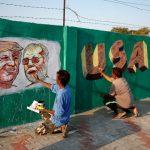 川普要來急遮醜? 印度築牆「隔離」貧民窟