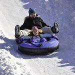 抓住冬季的尾巴 「滑雪胎」老少咸宜