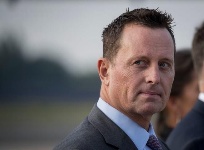 川普提名駐德國大使格雷內爾(Richard Grenell)擔任代理國家情報總監。(Getty Images)