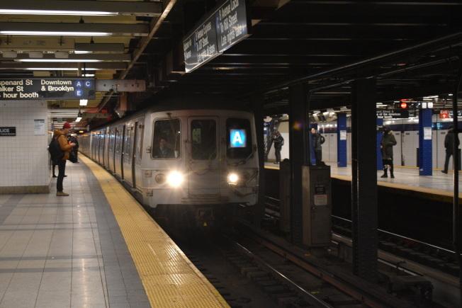 本周末地鐵路線有變更。(記者顏嘉瑩/攝影)