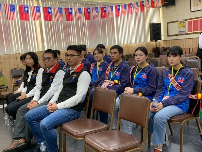 花蓮代表團拜會中華會館