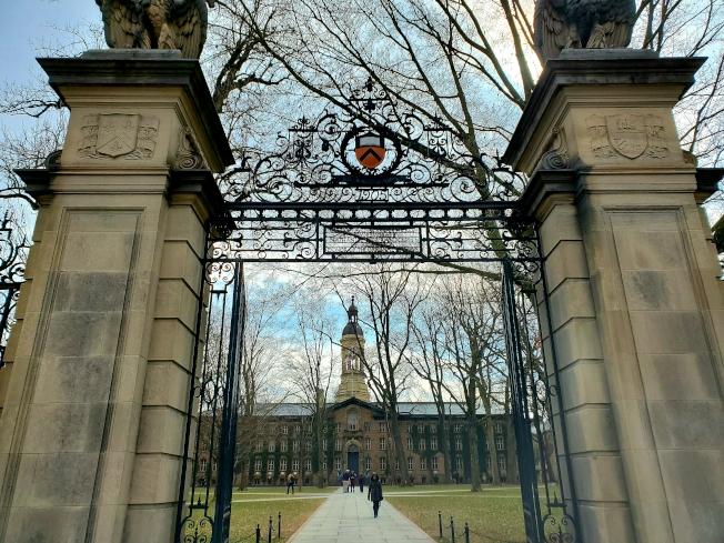 普林斯頓大學被評為全美性價比最高大學。(記者謝哲澍/攝影)