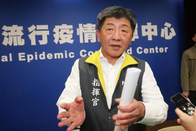 中央流行疫情指揮官陳時中強調,第24例感染者從1月22號出現症狀至今將近一個月,這起案例的防疫重點擺在1月30日住院後接觸過的醫護人員和病患。(記者徐兆玄/攝影)