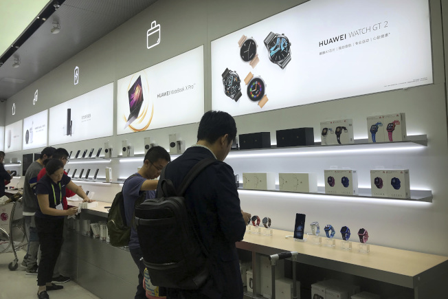 根據市調機構Counterpoint研究公司,中國去年占全球5G手機總銷售量的46%。   美聯社