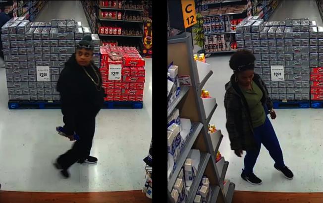 警方公布兩名嫌犯影像,呼籲民眾提供追捕線索。(安那罕警方提供)
