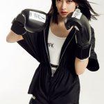 宋茜性感揮拳 粉絲:別打拳打我吧