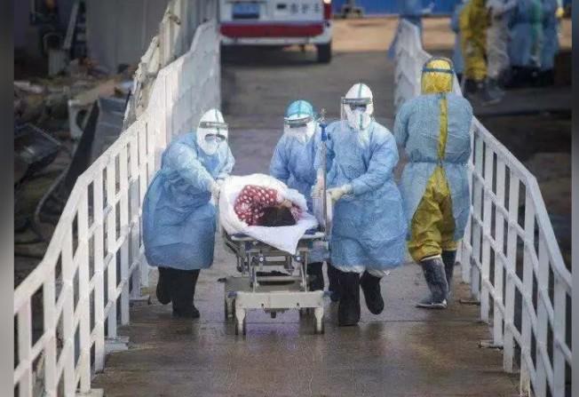 新冠肺炎疫情仍蔓延。美聯社