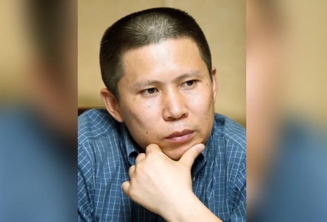 中國公民運動倡議者許志永。 美聯社資料照片