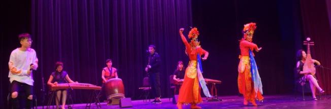 Eastern Chamber的民族音樂《無問西東》。(全美中華青年聯合會提供)