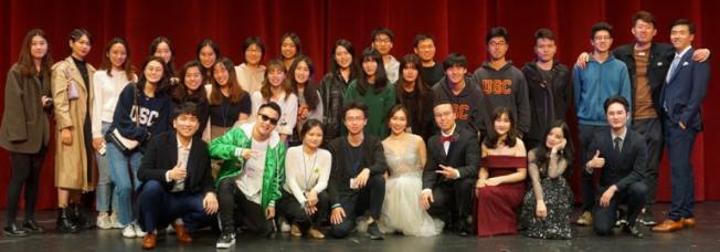 USC-CSSA 大合照。(全美中華青年聯合會提供)