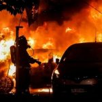 砸石扔汽油彈!音樂節開幕前 智利街頭警民衝突