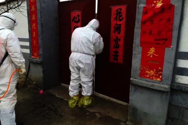 廣州市有13名患者出院後經核酸檢測又呈現「陽性」,期間還密切接觸104人,引起恐慌。 美聯社