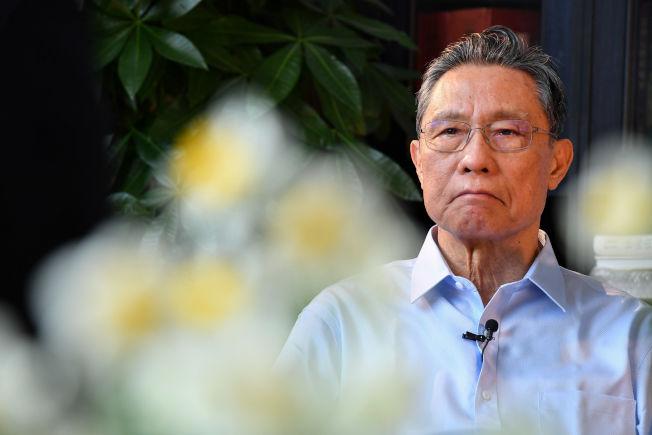 中國工程院院士、著名呼吸病學專家鐘南山。(新華社)