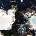 南極洲熱浪來襲9天 鷹島融化約20%積雪