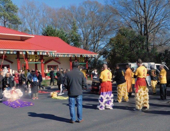 北卡禪觀雷藏寺 新春團拜祈福