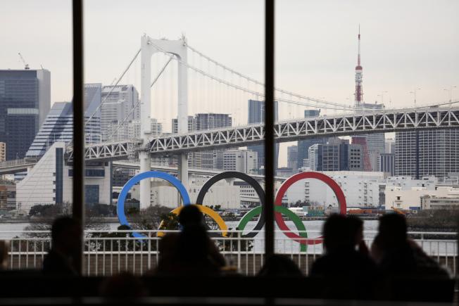受新冠肺炎影響,2020年東京奧運可能取消。 美聯社