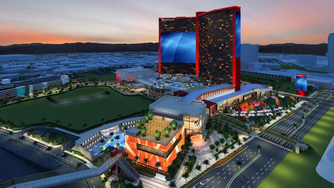 希爾頓酒店集團加入由馬來西雲頂集團投資的「拉斯維加斯世界度假中心」。(取材自度假中心網頁)