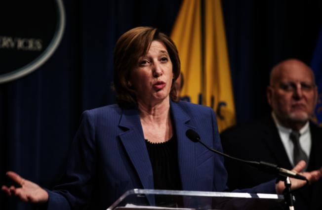 全國免疫和呼吸系統疾病中心主任南希.梅森尼爾(Nancy Messonnier)表示,新冠病毒在美傳播似乎不可避免。(Getty Images)。