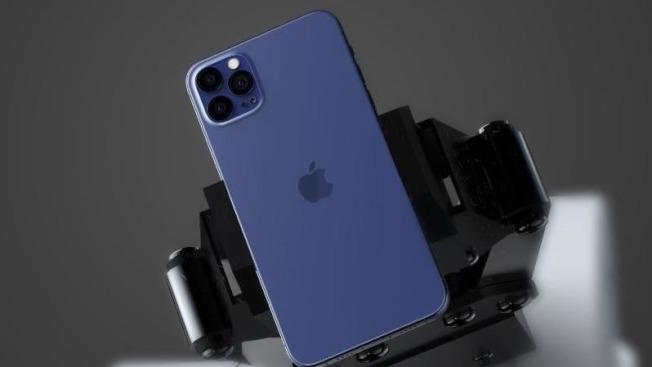 外傳今年將推出的高階款iPhone,將會以海軍藍做為年度特殊色。(取材自推特)