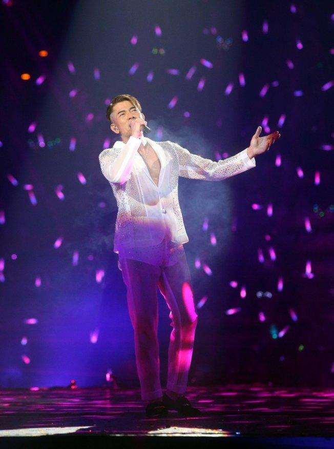 郭富城曾在演唱會上表示母親身體狀況不佳。(本報資料照片)