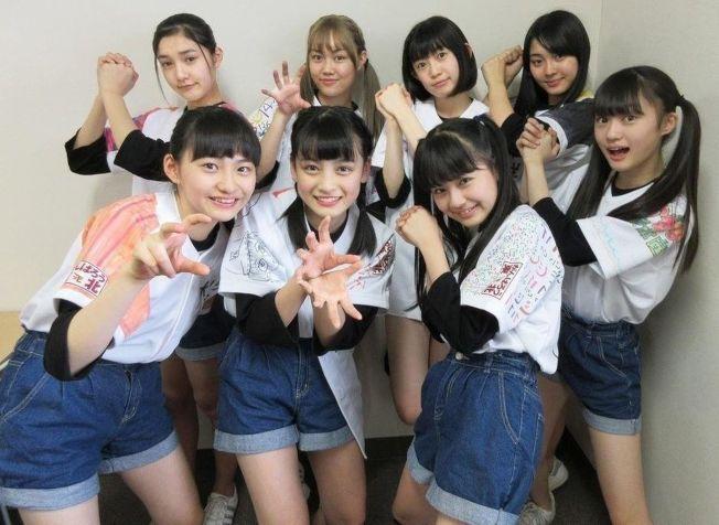 日本九人偶像女團《東北產》成員皆來自東北地區。(翻攝自https://utaten.com)