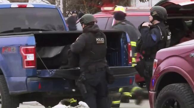威斯康辛州密爾瓦基市的摩爾森康勝辦公區附近,26日發生致命槍擊案,至少已有七人死亡。美聯社