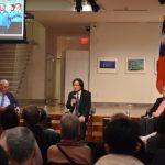 曼哈頓台灣民主座談會 葉俊榮自豪防疫效率