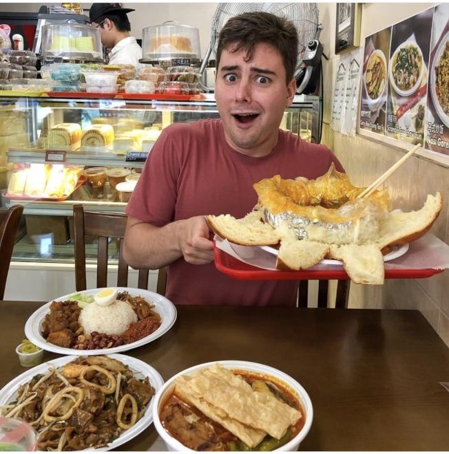 小馬酷愛中華美食。(圖片取自小馬Instagram)