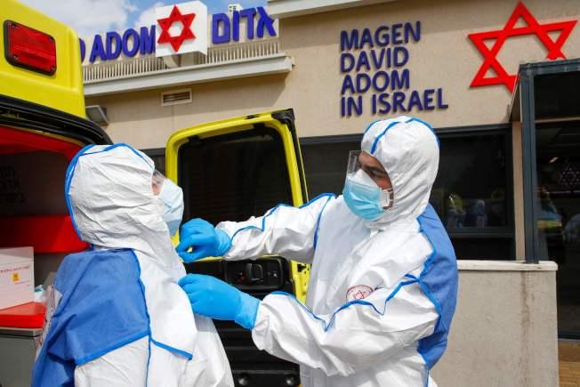 以色列也進入戒備狀態。 (Getty Images)