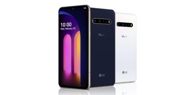 LG新款旗艦手機V60 ThinQ 5G。(取材自LG)