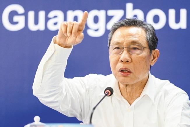網傳鍾南山院士擁有三家公司,身家驚人。 (中新社)