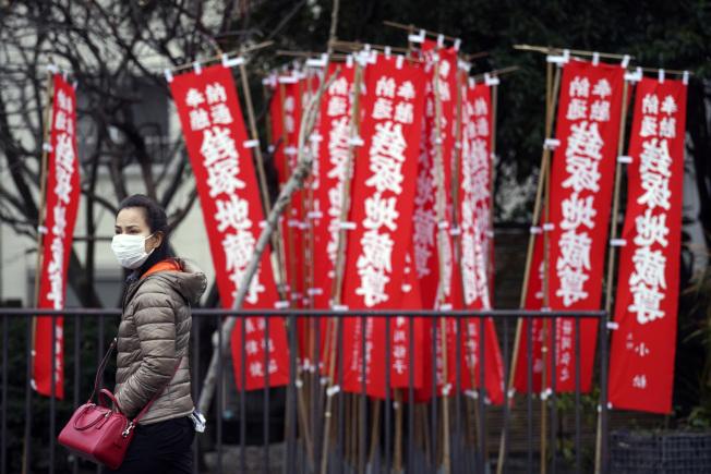 日本宣布各級學校停課一個月。(美聯社)