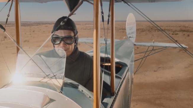 影片開頭,可以看見澳洲航空最初的模樣。圖/擷取自Youtube