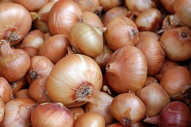 洋蔥比其他蔬果殘餘農藥少。 圖:pixabay