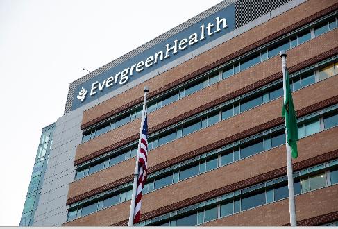 孫志銘在金恩郡柯克蘭的長青健康醫院(Evergreen Health Medical Center)已工作一年餘。(Getty Images)