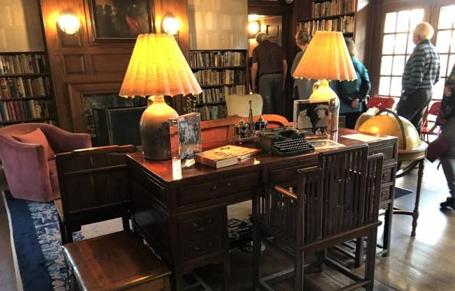 賽珍珠寫作的書桌。