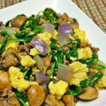 料理功夫 美式蔬菜肉末炒蛋