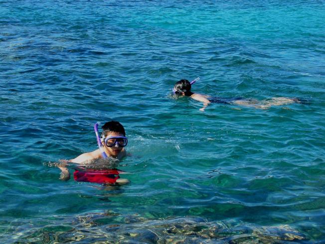 毛伊島的Ahihi Kinau保護區有隱秘的潛望水域。