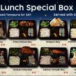 EAST地道日本料理精美午餐  特价来袭