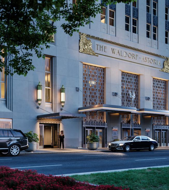 華爾道夫公寓定位為「紐約最奢華住宅區」。(大家保險集團提供)
