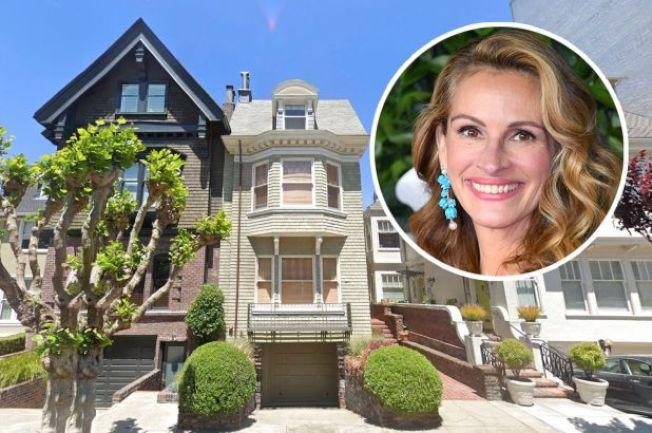 茱莉亞羅勃茲買下的舊金山古屋。(Realtor.com)