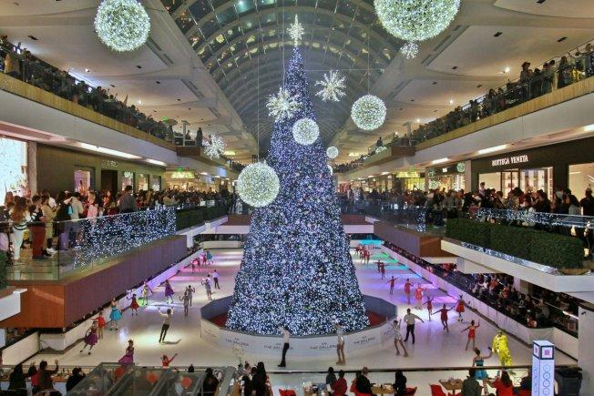 藝廊購物中心。(Houston Galleria Mall)