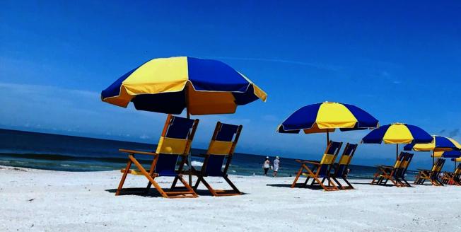 全美最佳海灘第二名聖彼得海灘(Saint Pete Beach)。(取自TripAdvisor網頁)