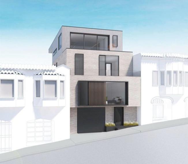 舊金山一棟640平方呎的破爛木屋出售,經紀找了設計師重新裝潢後(圖,房地產公司提供),以197萬5000元售出。
