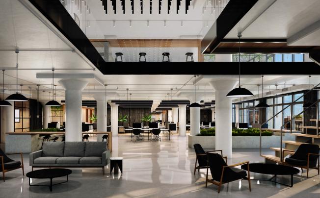 panorama提供嶄新的現代化商業辦公室。(取自panorama網站)