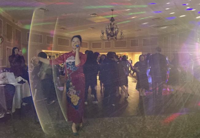 大奧蘭多台灣商會2020迎春聯歡會之舞會 一景。(記者陳文迪/攝影)