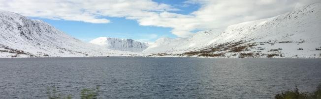 挪威的雪景。(圖:作者提供)