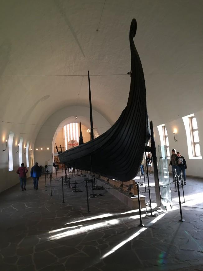 古維京人的長船。(圖:作者提供)