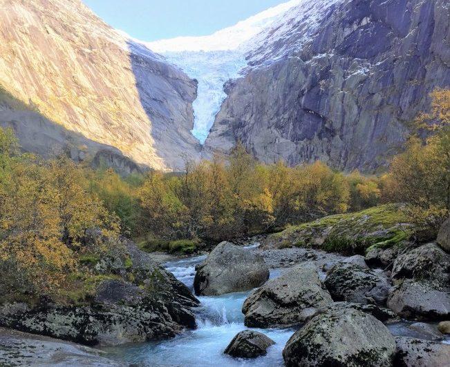 冰川。(圖:作者提供)