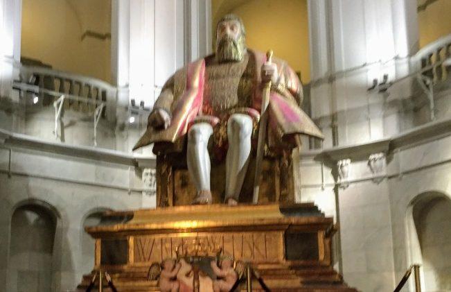 瑞典古斯塔夫一世國王瓦沙。(圖:作者提供)